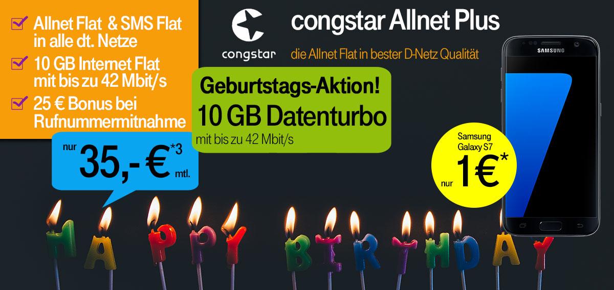 10 Jahre Congstar - Congstar Allnet mit Top Smartphones