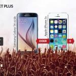 Samsung Galaxy S6, Sony Xperia Z5 (Compact) oder Huawei Mate S + Tablet mit Ay Yildiz Allnet Plus