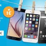 Blau Aktion mit Samsung Galaxy S6, iPhone SE, iPhone 6, Sony Xperia Z5 Compact oder Sony Xperia Z5