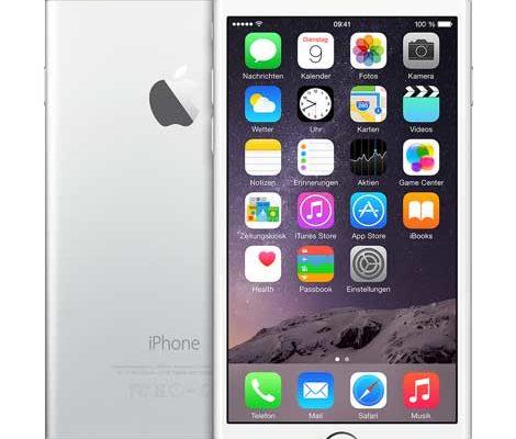 apple iphone 6 g nstig mit und ohne vertrag. Black Bedroom Furniture Sets. Home Design Ideas