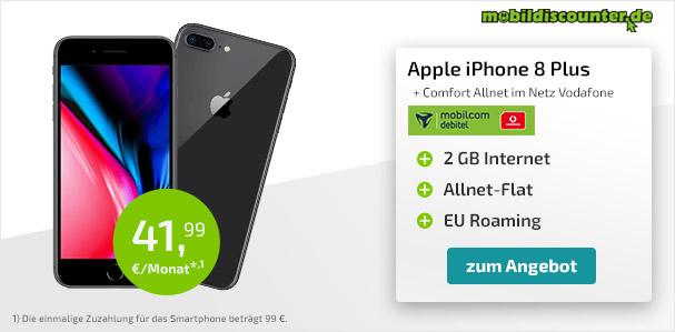 iphone 8 mit anzahlung
