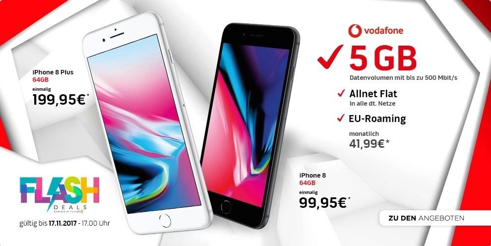 Apple iPhone 8 im Vodafone Vertrag