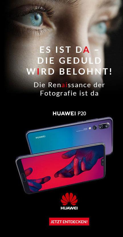 Huawei P20 Pro - Jetzt vorbestellen